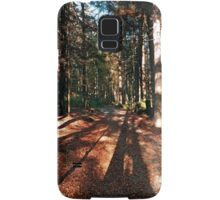 Indian summer forest trail | landscape photography Samsung Galaxy Case/Skin