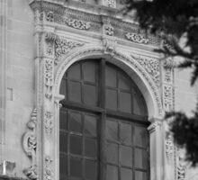 Monochrome facade in Puglia Sticker