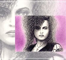 Helena Bonham-Carter miniature by wu-wei