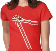 Lonely Christmas wrapping shirt Womens Fitted T-Shirt