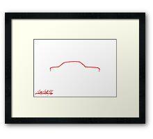 Alfa Romeo Giulia Sprint GTA Framed Print