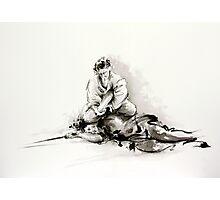 Sumi-e martial arts, samurai large poster for sale Photographic Print