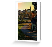 Road up to the hill | landscape photography Greeting Card