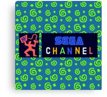 Sega Channel Canvas Print