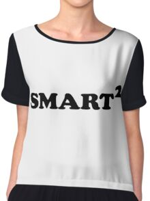 Smarted Conceptual Typographic Design Chiffon Top