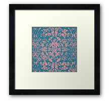 Great Barrier Reef ( pink ) coral pattern Framed Print