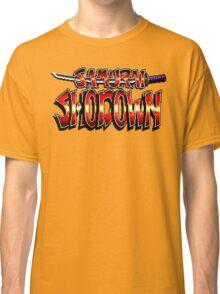 Samurai Shodown (SNES Title Screen) Classic T-Shirt
