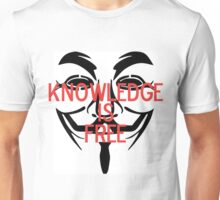 Knowledge Is Free Unisex T-Shirt