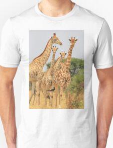 Giraffe - African Wildlife - Patterns in Nature Unisex T-Shirt