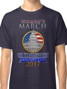Women's March on Washington 2017 Redbubble T  Shirts Classic T-Shirt