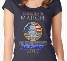 Women's March on Washington 2017 Redbubble T  Shirts Women's Fitted Scoop T-Shirt