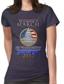 Women's March on Washington 2017 Redbubble T  Shirts Womens Fitted T-Shirt