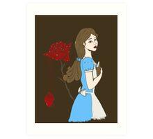 Belle Rose Art Print
