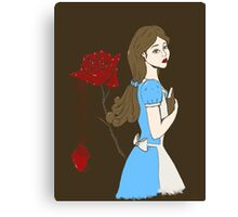 Belle Rose Canvas Print