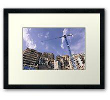 Skyscraper Monaco  Framed Print