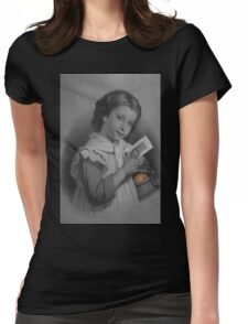 Mona Lisa Smile Womens Fitted T-Shirt