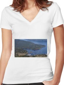 Safe Harbor Women's Fitted V-Neck T-Shirt