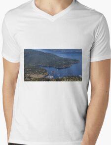 Safe Harbor Mens V-Neck T-Shirt