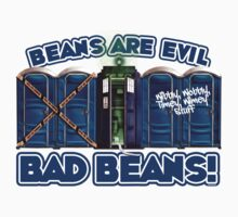 Beans Are Evil Bad Beans Kids Clothes