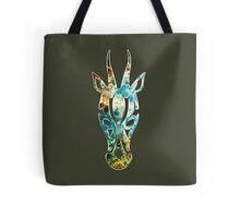 Antelope, Africa, Space, Cosmos, Galaxy, Universe Tote Bag