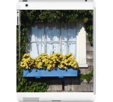 Blue Flower Box iPad Case/Skin