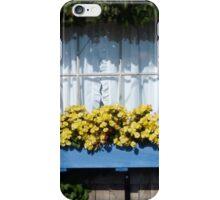 Blue Flower Box iPhone Case/Skin