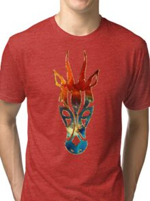 Antelope, Africa, Space, Cosmos, Galaxy, Universe Tri-blend T-Shirt
