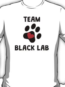 Team Black Lab T-Shirt