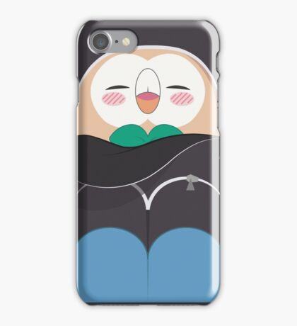 Rowlet Backpack Phone Case - Relaxed Ver. iPhone Case/Skin