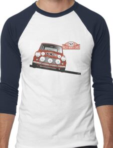 1965 Rallye Monte Carlo winner Men's Baseball ¾ T-Shirt