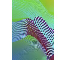 Pixelsorted gradient /11 Photographic Print