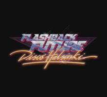 Flashback Future - Blood+Chrome T-Shirt