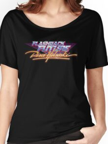 Flashback Future - Blood+Chrome Women's Relaxed Fit T-Shirt