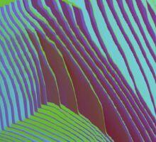 Pixelsorted gradient /11 Sticker