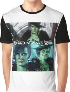 Wicked Always Wins - Zelena  Graphic T-Shirt