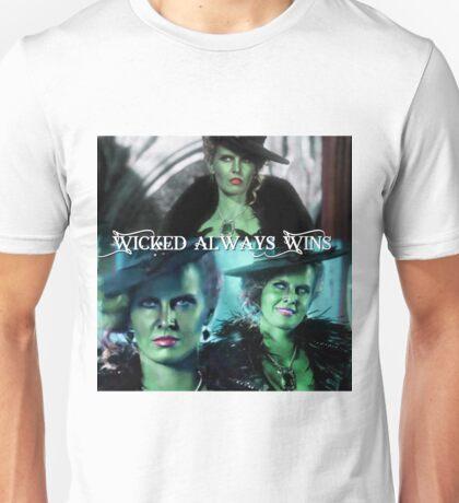 Wicked Always Wins - Zelena  Unisex T-Shirt