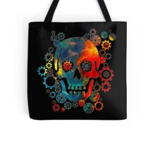 Skull, Space Pirate, Cosmos, Galaxy, Universe Tote Bag