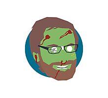 'Stephen Merchant' Halloween Zombie Photographic Print