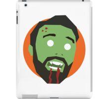 'Ricky Gervais' Halloween Zombie iPad Case/Skin