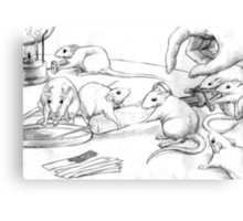 Rattus Lab Canvas Print