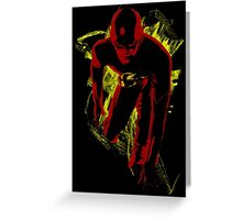 Fastest Man Alive Greeting Card