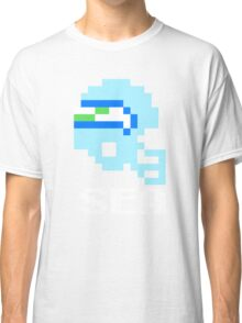 Tecmo Bowl, Tecmo Super Bowl, Tecmo Bowl Shirt, Tecmo Bowl T-shirt, Tecmo Bowl Helmet, Bo Jackson, Football, SEA Helmet, SEA Classic T-Shirt