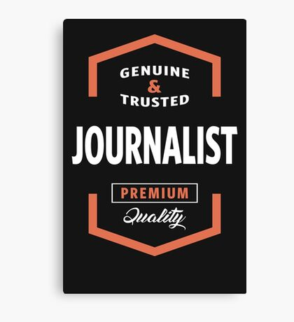 Journalist Logo Tees Canvas Print