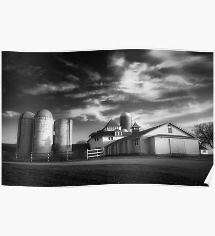Farmhouse HDR Poster