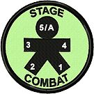 Stage Combat Geek Merit Badge by storiedthreads