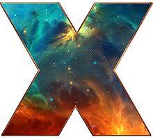 X, Space, Universe, Galaxy, Cosmos Photographic Print