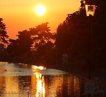 Ryde Sunset by Jonathan Cox