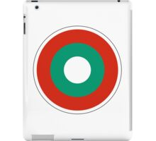 Bulgarian Air Force Roundel  iPad Case/Skin