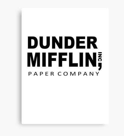 Dunder Mifflin Canvas Print