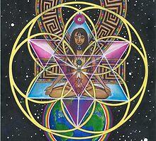 Merkaba Chakra Healing and Immortality Activation by Francesca Love Artist